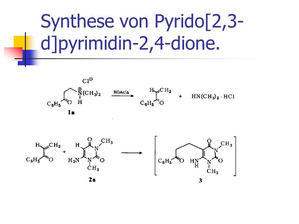 Synthese von Pyrido[2,3-d]pyrimidin-2,4-dione.